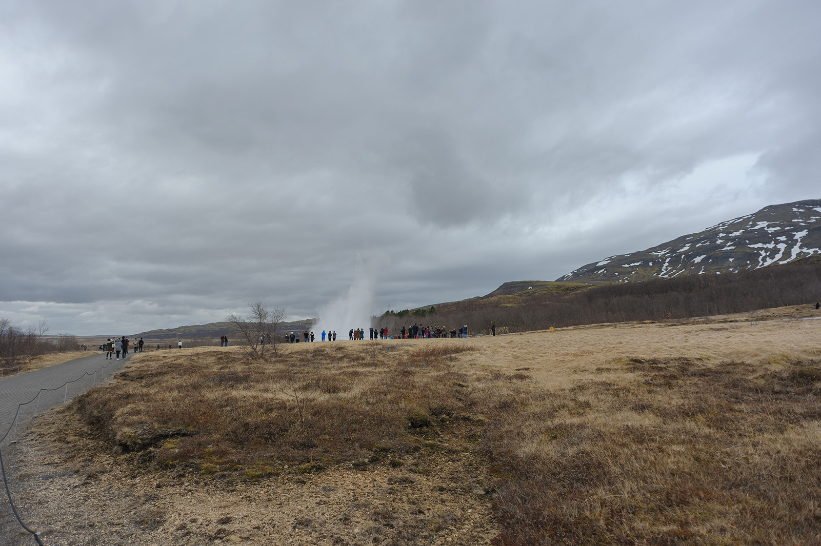 Haukadalur - долина гейзеров.