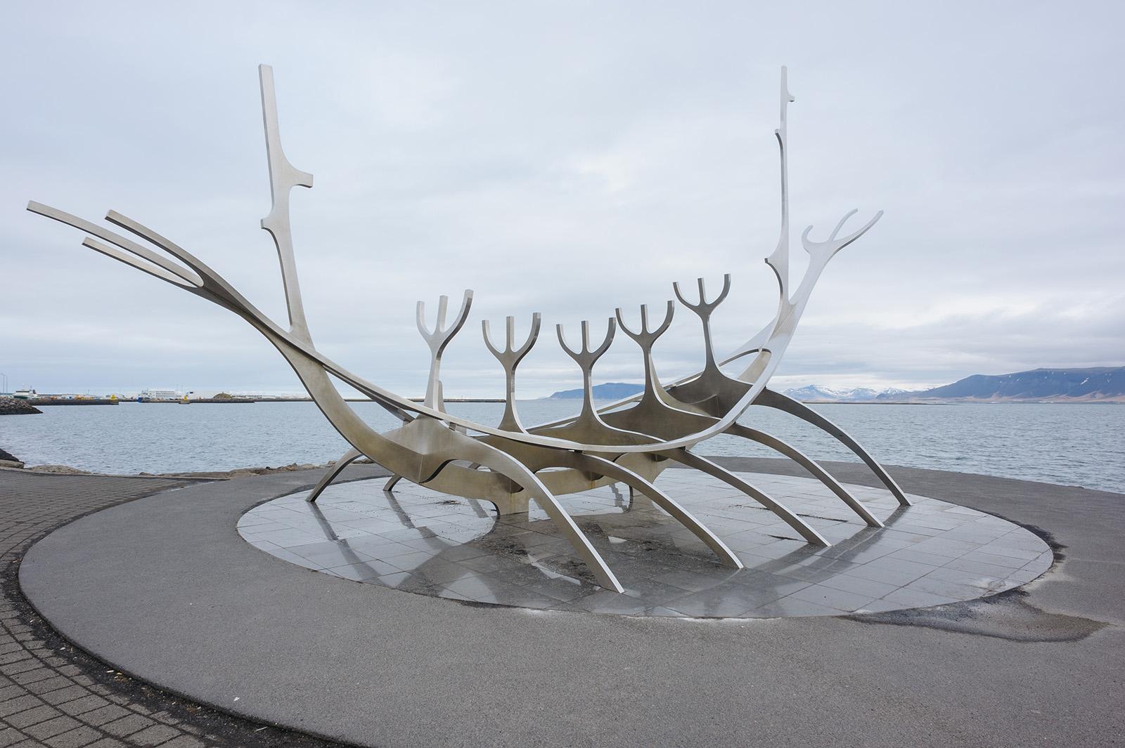 Sólfarið - Солнечный странник. Reykjavik.