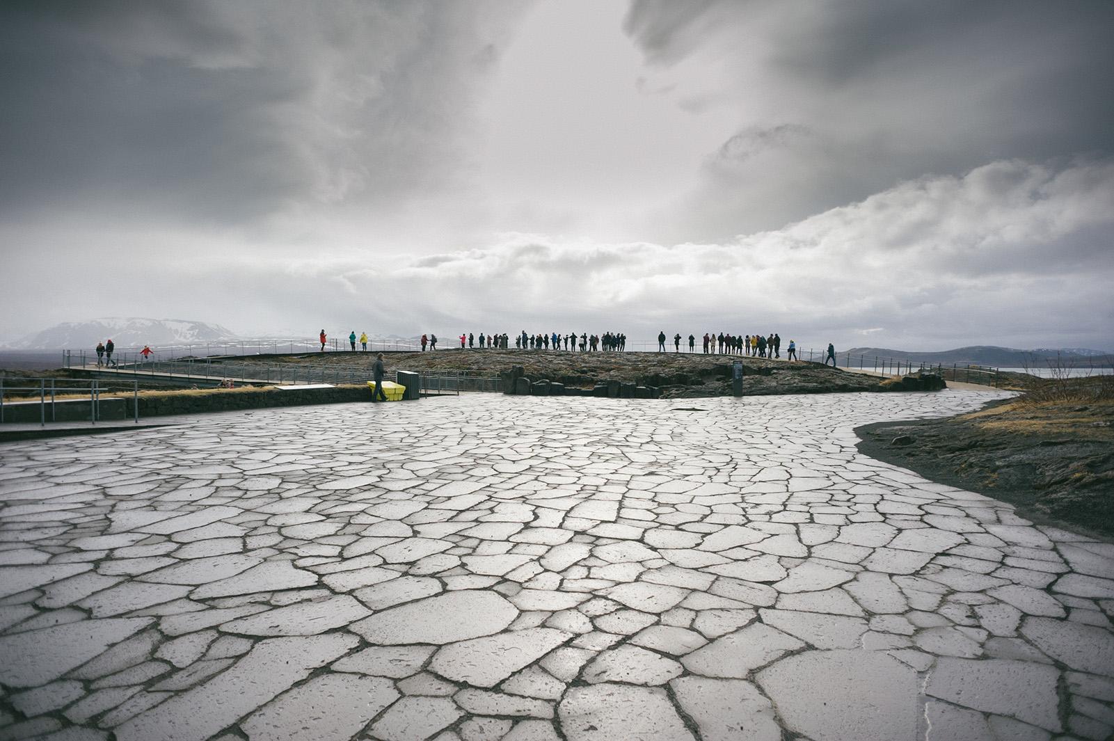 Þingvellir - национальный парк и долина.