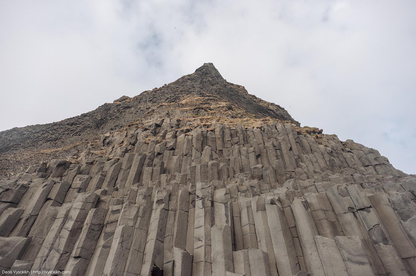 гора Reynisfjall.