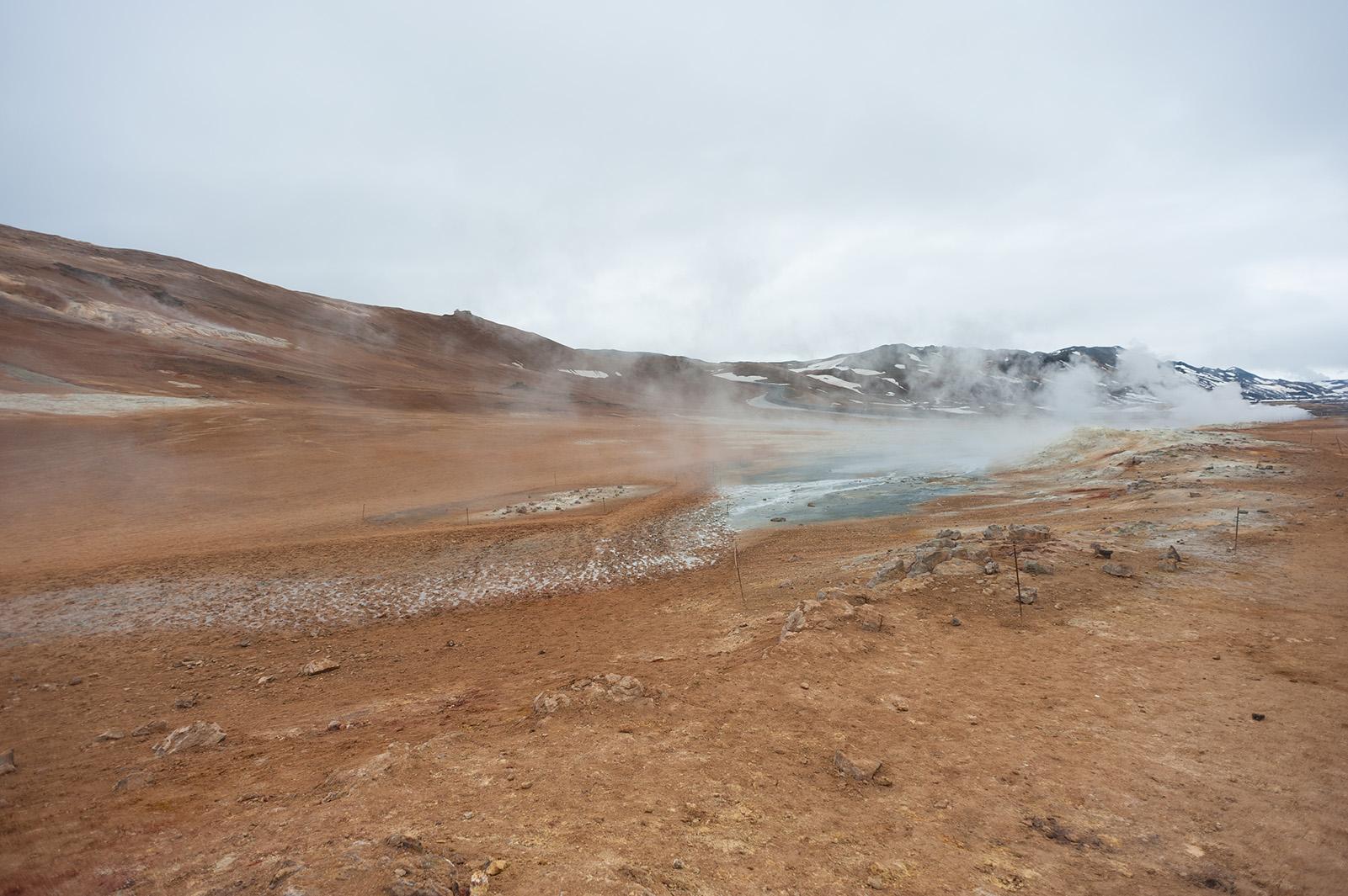 Námafjall - по-истине, марсианский пейзаж.