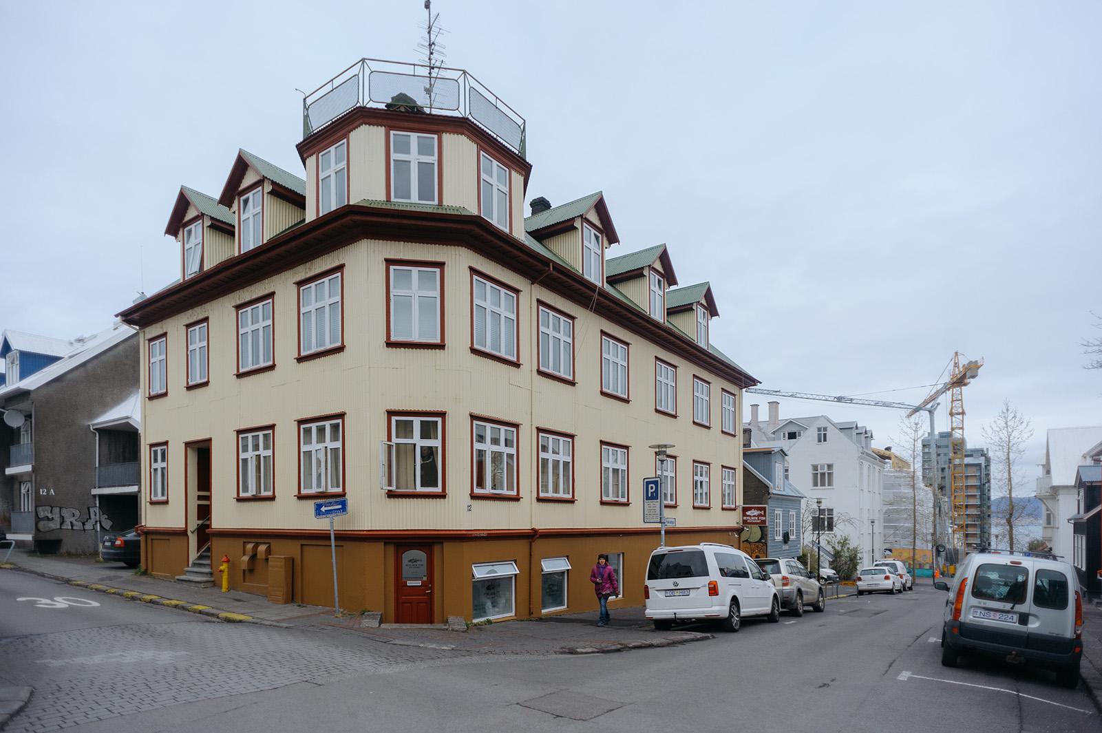 на улицах города, Reykjavik.