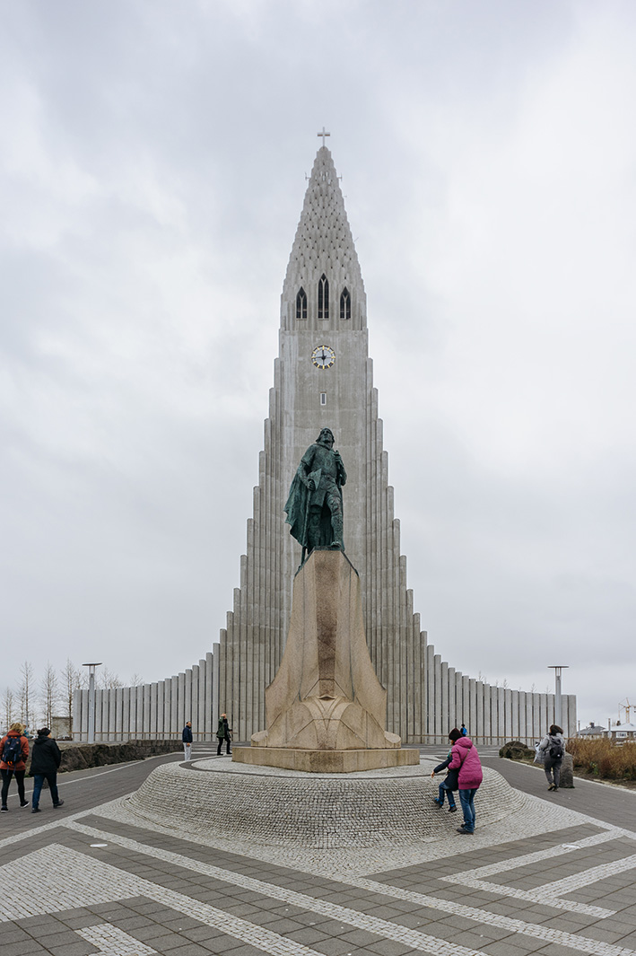 Hallgrimskirkja, Reykjavik. Пожалуй, визитная карточка столицы Исландии.