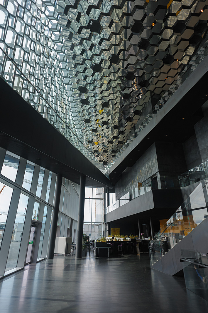 Концертный зал Harpa, Reykjavik.