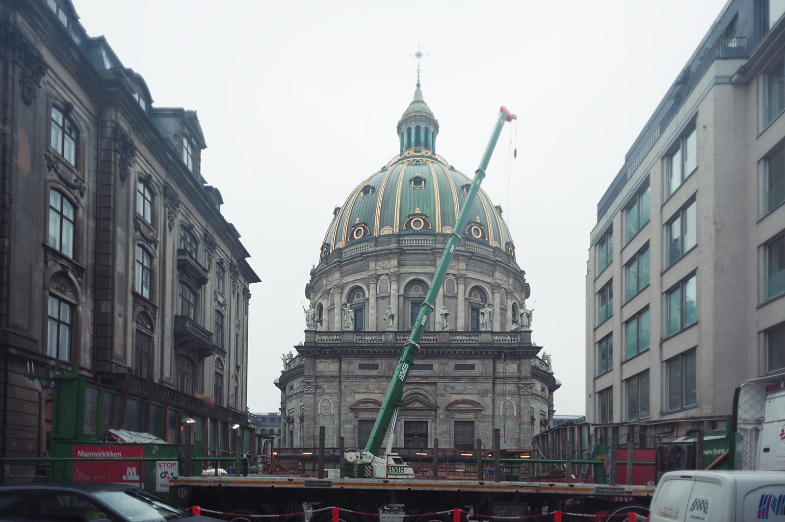 Frederiks Kirke или The Marble church