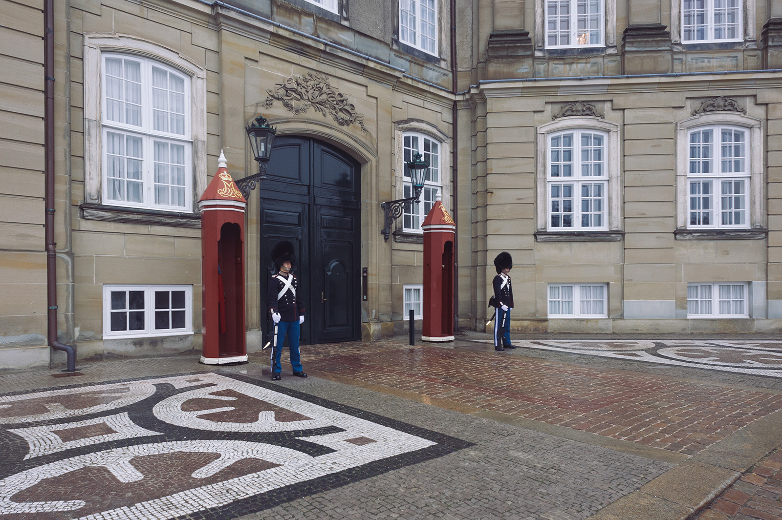 Amalienborg - Королевский дворец