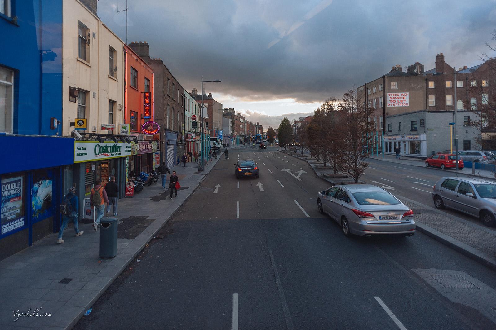 на улицах Дублина