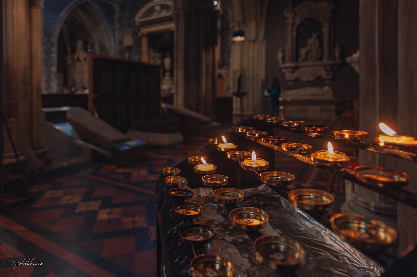 Saint Patrick's Cathedral (Árd Eaglais Naomh Pádraig) Собор Святого Патрика, интерьеры.