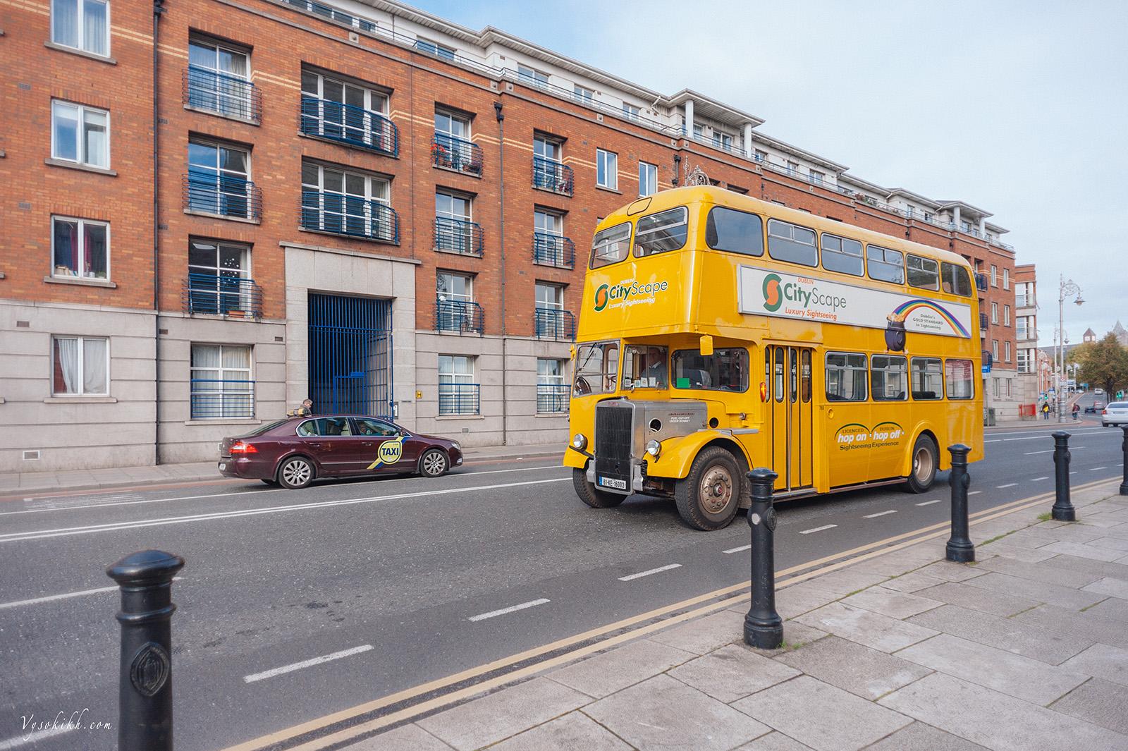 двухэтажный автобус, Дублин