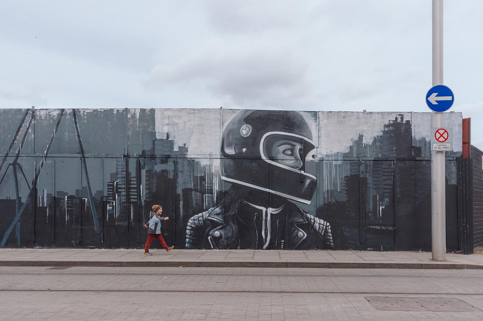 уличное искусство в Дублине