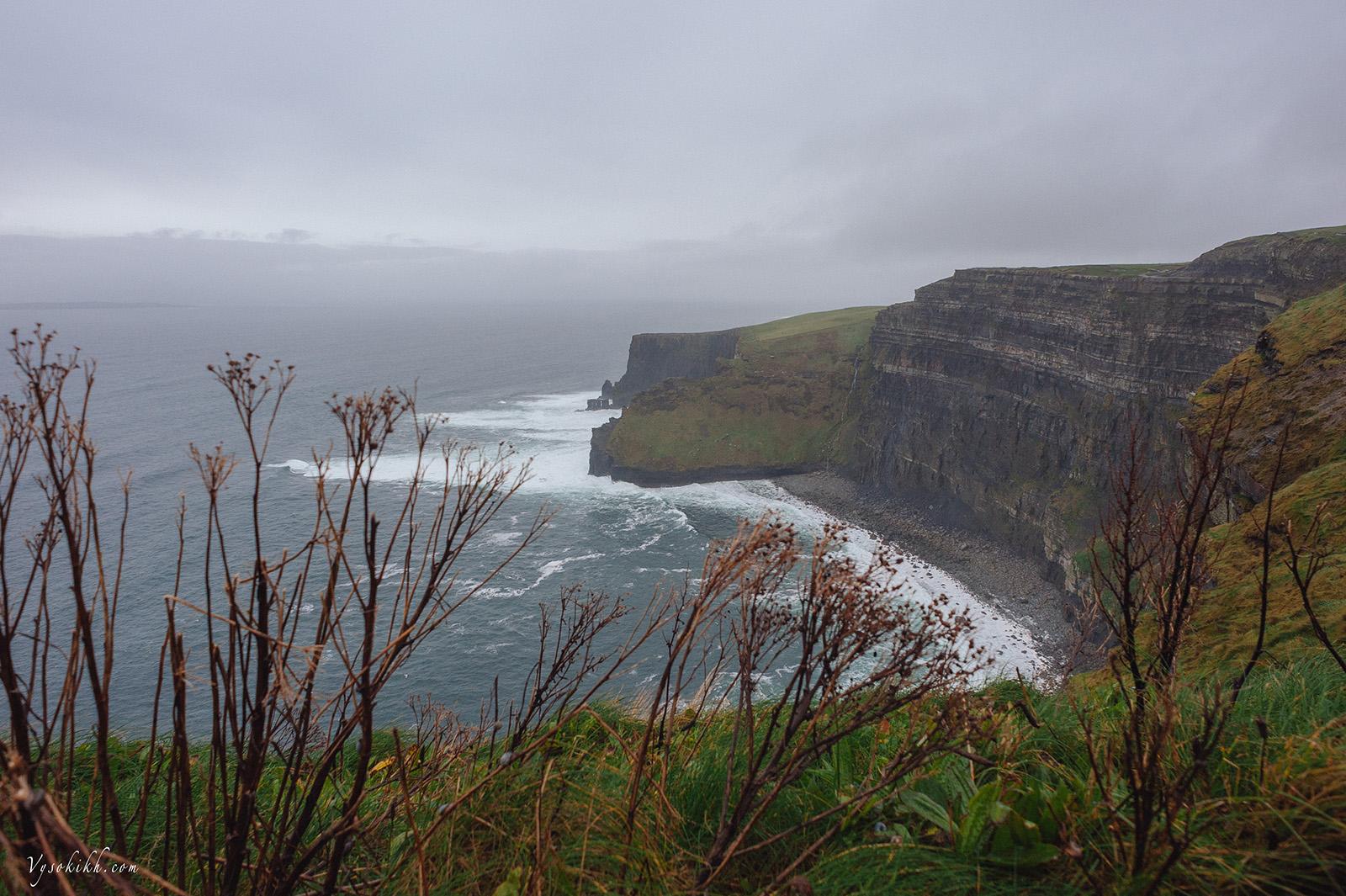 Cliffs of Moher - пожалуй, самая посещаемая достопримечательность Ирландии.